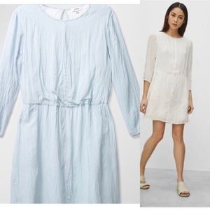 Wilfred myosotis dress in light blue size small